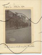 PHOTO IDENTIFIÉE. D80. SOMME. CAYEUX Sur MER. La Gendarmerie A Cheval Se Rendant Au Grèves L'Escarbotin - Lieux