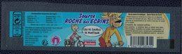 France Étiquette Eau De Source De Montagne Roche Des Écrins 33 Cl Sélectionnée Par Auchan - Etiquettes