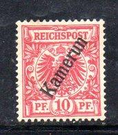 APR484 - KAMERUN CAMERUN 1896 , Yvert N. 3 * Linguella Forte  (2380A). - Colonia: Camerun