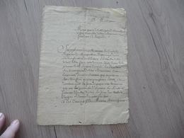 Montpellier 12/04/1704 Requête Signée Demonbigny à Mr De La Moignond De Basuelle Impositions - Manuscrits