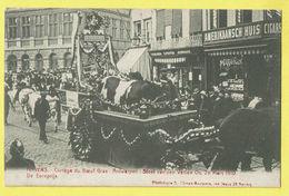 * Antwerpen - Anvers - Antwerp * (Climan Ruyssers) Cortège Du Boeuf Gras, Stoet Van Den Vetten Os 28 Mars 1910 Koe Vache - Antwerpen