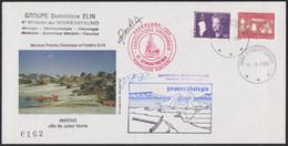 """ARCTIC, GRÖNLAND, """"Groupe Dominique ELIN"""", 11.8.1989,3+1 Cachets On Nice Event-Cove,2x Signedr , Look Scan !! 13.6-45 - Non Classés"""