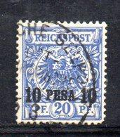 APR485 - Ostafrika Africa Orientale 1893 , Yvert N. 4  Usata  (2380A). - Colonia: Africa Orientale