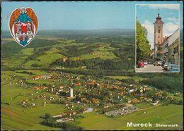 Austria - 8480 Mureck - Flugaufnahme - Aerial View - Zentrum - Cars - Nice Stamp - Mureck