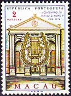 Macao / Macau, 1972 - Centenário Do Teatro D. Pedro V De Macau / MNH** - Other