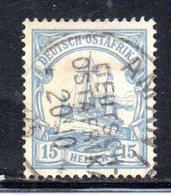 APR486 - Ostafrika Africa Orientale 1905 , Yvert N. 25  Usato  (2380A).  Heller - Colonia: Africa Orientale