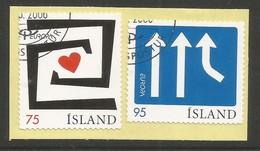 Island 2006  Mi.Nr. 1135 / 1136 , EUROPA CEPT Integration - Gestempelt / Fine Used / (o) - 1944-... Republique