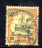 APR487 - Ostafrika Africa Orientale 1905 , Yvert N. 26  Usato  (2380A).  Heller - Colonia: Africa Orientale