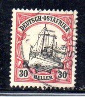 APR488 - Ostafrika Africa Orientale 1905 , Yvert N. 27  Usato  (2380A).  Heller - Colonia: Africa Orientale