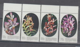 SINGAPUR  1976  **   MNH  YVERT  246/49 - Singapore (1959-...)