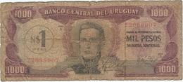 Uruguay 1 Nuevo Peso 1975 Pk 55 Sobre Pick 49 Ref 3 - Uruguay