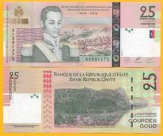 Haiti 25 Gourdes P-273 2004 UNC Banknote - Haïti