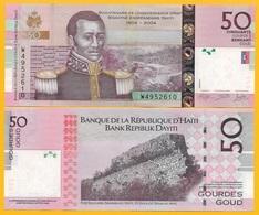 Haiti 50 Gourdes P-274e 2014 UNC Banknote - Haiti