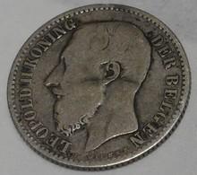 1 Franc Belgique - ARGENT - 1887 - 07. 1 Franc