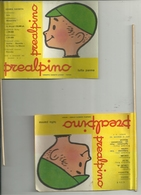 PREALPINO  -PREALPI  VARESE PICCOLA  LOCANDINA  PUBBLICITARIA--SERIE  BANDIERE  ARABIA  CILE - Afiches