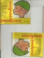 PREALPINO  -PREALPI  VARESE PICCOLA  LOCANDINA  PUBBLICITARIA--SERIE  BANDIERE ARGENTINA   AUSTRALIA - Afiches