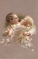 """""""Couple.Romance. Bonheur Supreme"""" Lovely Antique  Postcard - Parejas"""