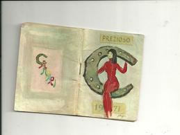 PREZIOSO--  CAMPARI  1971   DAVIDE  CAMPARI  MILANO - Calendari