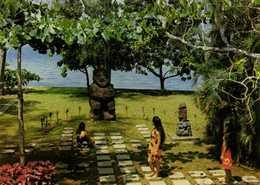 MUSEE GAUGUIN  TAHITI  Tiki De RA'IVAVAE  ( Iles Australes) RV - Tahiti