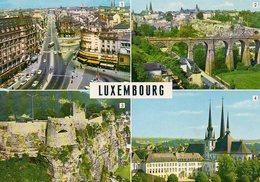 Luxemburg: Luxemburg, 4 Bilder - Ansichtskarten