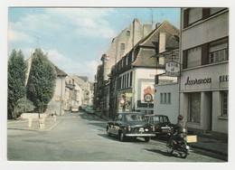 57 Sarreguemines Place Goethe Rue De France Peugeot 403 Renault R10 Moto Assurances Rhin & Moselle Affiche Dauphin - Sarreguemines
