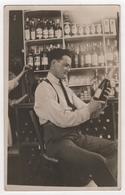 Carte Photo Commerce Marchand De Vin Champagne Rhum Machine Marseille - Händler