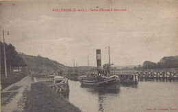Rolleboise : Sortie D'Ecluse à Méricourt - France