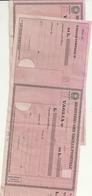 VAGLIA  POSTALI  N.  2  ITALIA - Vecchi Documenti