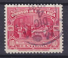 Costa Rica 1930 Mi. 146     10 C. Panamerikanischer Postkongress, Buenos Aires Kolumbus Sucht Hilfe Bei Königin Isabella - Costa Rica