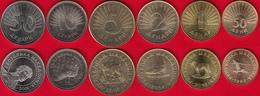 Macedonia Set Of 6 Coins: 50 Deni - 50 Denari 1993-2016 UNC - Macedonia