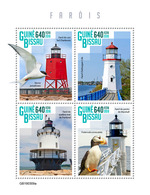 GUINEA BISSAU 2019 - Lighthouses, Puffin. Official Issue - Andere