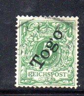 APR501 - TOGO 1897 , Yvert N. 1  Usato   (2380A). - Colonia: Togo
