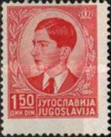 USED  STAMPS Yugoslavia - King Peter II  -  1940 - 1931-1941 Kingdom Of Yugoslavia