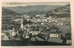 AK   TESERO   Trento   1915. - Trento