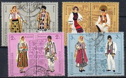 Rumänien  1985 MiNr. 4185/ 4192  O/ Used ;   Trachten I. - Kostüme