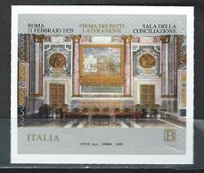 Italy. Scott #  MNH & FDC. 90th Anniv. Of Patti Lateranensi. Joint Issue With Vatican 2019 - Joint Issues