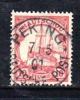APR505 - KIAUTSCHOU1900 ,  Yvert N. 3  Usato   (2380A). - Colonie: Kiautchou