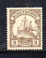 APR507 - KIAUTSCHOU 1900 ,  Yvert N. 1 Nuovo  *   (2380A). - Colonia: Kiautchou