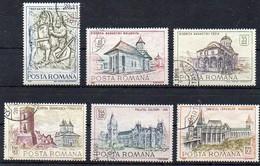 Rumänien 1968 MiNr. 2714/ 2719  O/ Used ;   Historische Bauten - 1948-.... Républiques