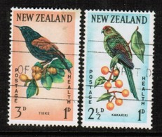 NEW ZEALAND  Scott # B 63-4 VF USED (Stamp Scan # 489) - New Zealand