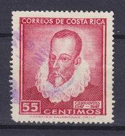 Costa Rica 1947 Mi. 432     55c. Miguel De Cervantes, Spanischer Dichter - Costa Rica