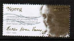 NORWAY  Scott # 1523 VF USED (Stamp Scan # 489) - Norway