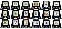SIERRA LEONE 2019 - Fauna On Stamps A, 18 S/S. Official Issue. - Fouten Op Zegels