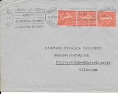 Frankreich  Beleg MeF 1948 - Köln - France