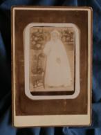 Photo Cabinet Gaultier à Chabris - Communiante Circa 1890 L440 - Photos