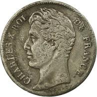Monnaie, France, Charles X, 1/2 Franc, 1829, Paris, TB+, Argent, Gadoury:402 - G. 50 Centimes