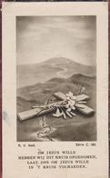 Maria Schuerweghs Ludovicus Lavrijsen Stabroek Essen Esschen 1943 Doodsprentje Bidprentje Image Mortuaire - Images Religieuses
