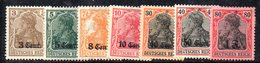 APR512 - BELGIO NORD Occupazione 1916 , Sette Valori Nuovi *  (2380A). - Germania
