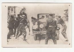 Karađorđević Marseilles Assassination Of King Alexander Old Photopostcard Travelled 1934 Beograd To Split B190420 - Familles Royales