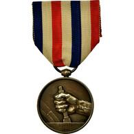 France, Médaille Des Cheminots, Médaille, 1941, Excellent Quality - Army & War